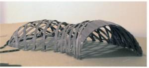 halle maquette structurelle geodesique